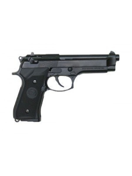ПИСТОЛЕТ ПНЕВМ. WE BERETTA M92F, CO2, черный, металл, WE-M001-CO2 / CP301