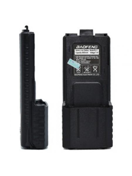 Батарея 3800 mah на радиостанцию Baofeng UV 5R(большая)