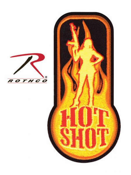 ШЕВРОН на липучке HOT SHOT код ROTHCO 72185