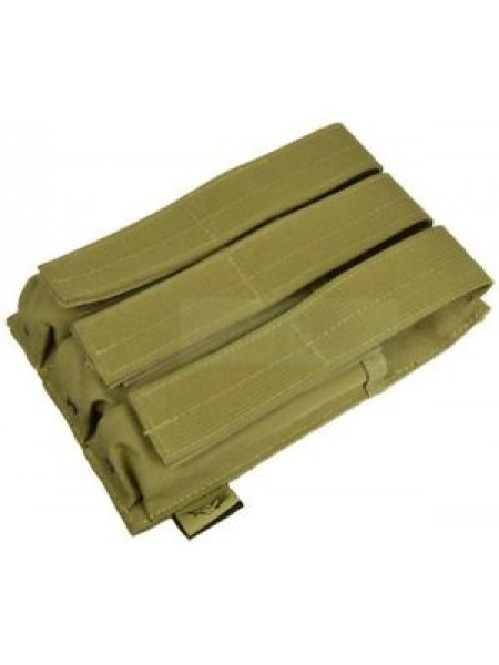 FLYYE Molle Triple MP5 Mag Pouch (Khaki) FY-PH-M010-KH