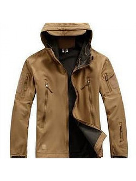 Куртка SOFT SHELL коричневая M