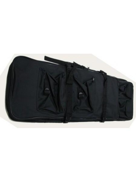ЧЕХОЛ ОРУЖЕЙНЫЙ, 120 см с карманами BLACK WS23650B