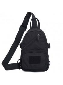 Однолямочный рюкзак №2 Тинэйджер черный