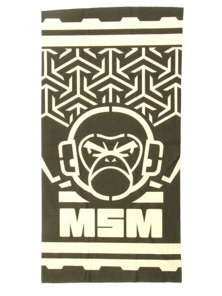 Шарф-маска орнамент angry monkey Green