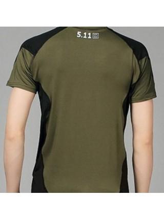 Термо-футболки 511 короткий рукав зеленый M