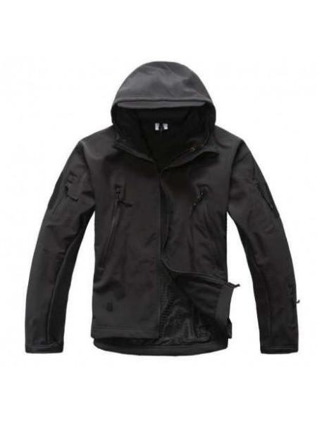 Куртка SOFT SHELL черная L