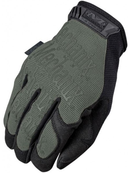 Перчатки Mechanix зеленые XL