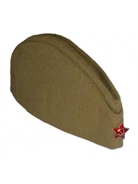 Пилотка со звездой армейская р.58