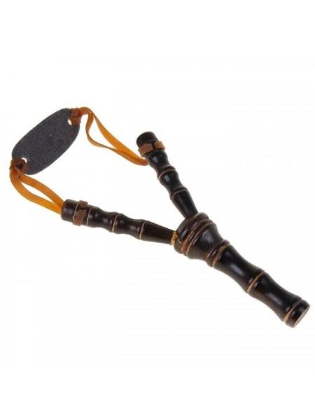 Рогатка, двойной резиновый жгут, деревянная, 19х11 см, микс 1267741
