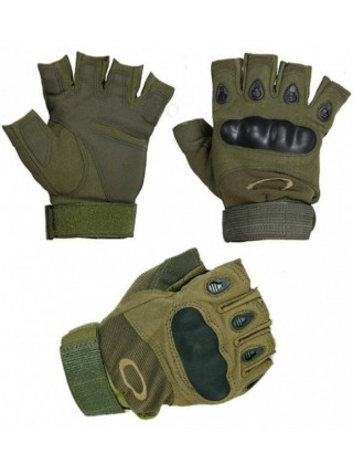Перчатки Oakley беспалые зеленые XL