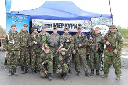 В Надеждинском районе ВПК Меркурий проводит военно – полевые сборы