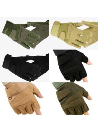 Перчатки Black Hawk мягкая зашита костяшек ПП черные L