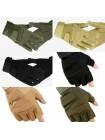 Перчатки Black Hawk мягкая зашита костяшек ПП зеленые L