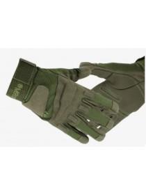 Перчатки Black Hawk мягкая зашита костяшек ПП зеленые M