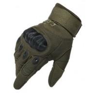 Перчатки CQB полнопалые с защитой котяшек Олива 2XL