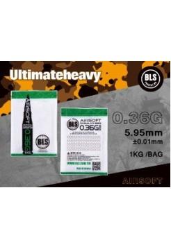 Шарики BLS 0,36 (1кг, слоновая кость, пакет) (20 пакетов в коробке) Taiwan 1KG-H36I