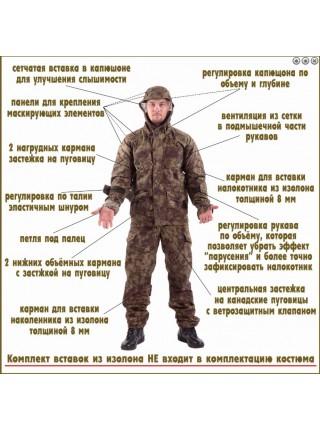 Костюм Снайпер-2 погран.цифра р.48-50/170-176